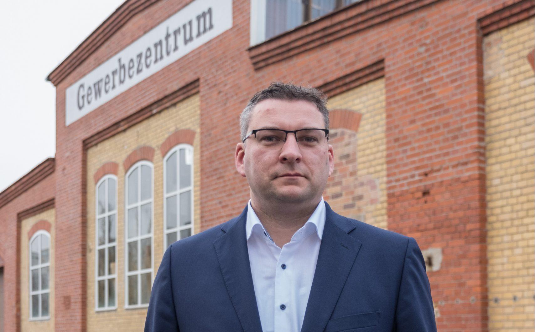Wirtschaftsförderer Christian Wolf will für die FDP ins Abgeordnetenhaus