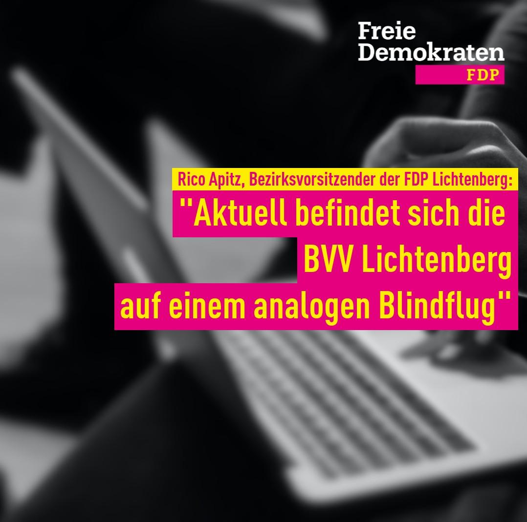FDP fordert Wiederaufnahme der politischen Arbeit in Lichtenberg unter freiem Himmel