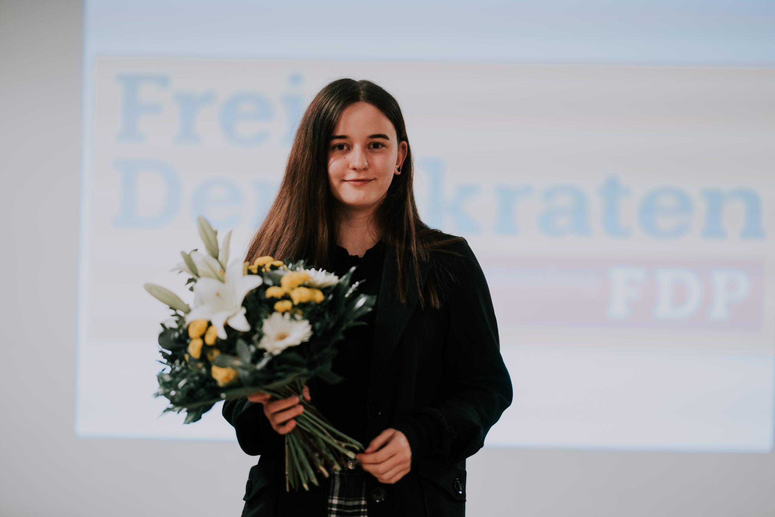 """Noreen Thiel (17) kandidiert in Lichtenberg für den Bundestag: """"Ich hab' Bock!"""""""