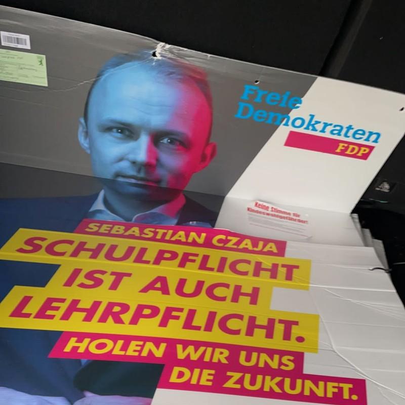 Der Schlüssel zum FDP-Wahlsieg: Plakate