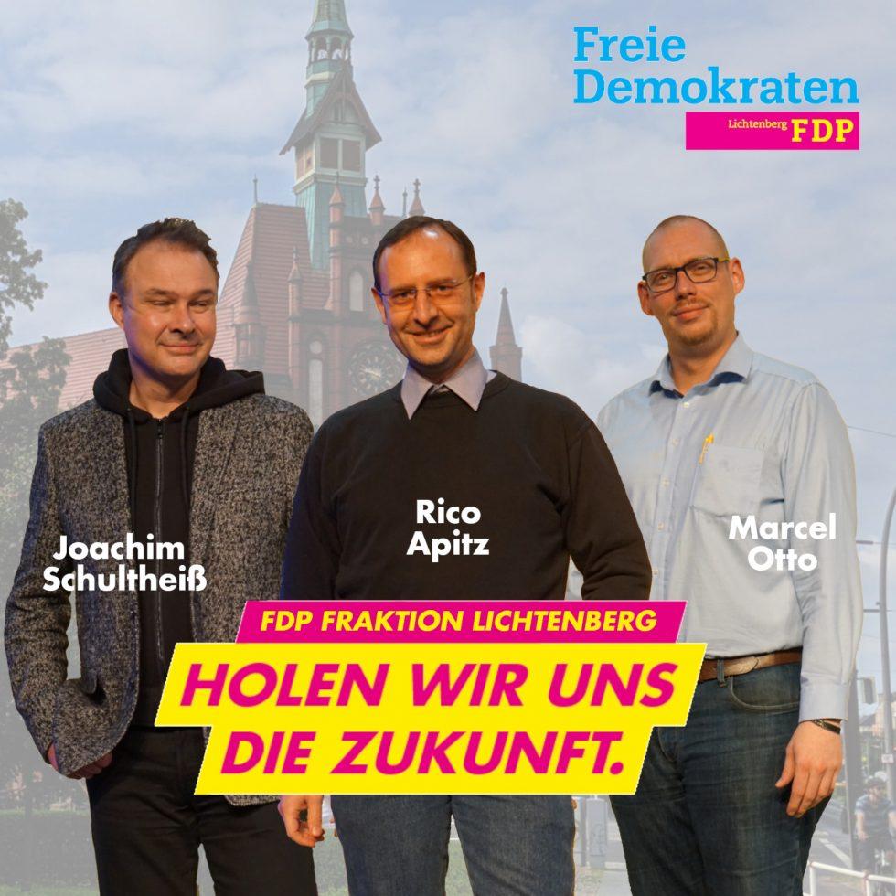 FDP zieht in Fraktionsstärke in die BVV ein