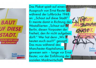 Sogar Historiker befassen sich mit unseren Plakaten